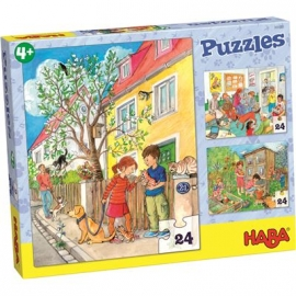 HABA - Puzzles Haustiere