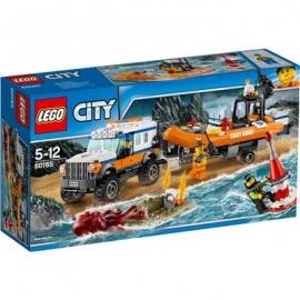LEGO® City Küstenwache - 60165 Geländewagen mit Rettungsboot