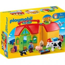 PLAYMOBIL® 6962 - 1 2 3 PLAYMOBIL®® - Mein Mitnehm-Bauernhof