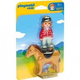 PLAYMOBIL® 6973 - 1 2 3 PLAYMOBIL®® - Reiterin mit Pferd