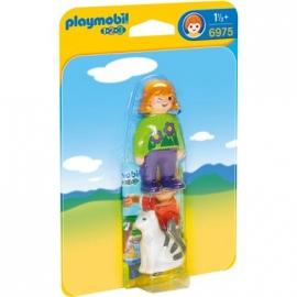 PLAYMOBIL® 6975 - 1 2 3 PLAYMOBIL®® - Frau mit Katze