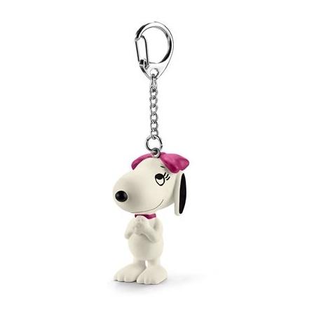 Schleich - Peanuts - Schlüsselanhänger Belle, entzückt