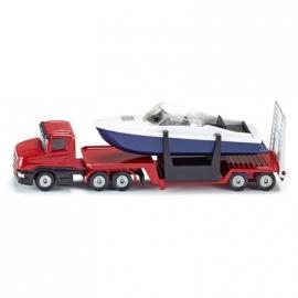 SIKU Super - Tieflader mit Boot