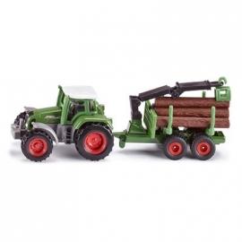 SIKU Super - Traktor mit Forstanhänger