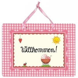 Coppenrath - Großes Fotoalbum: Willkommen! (rosa)