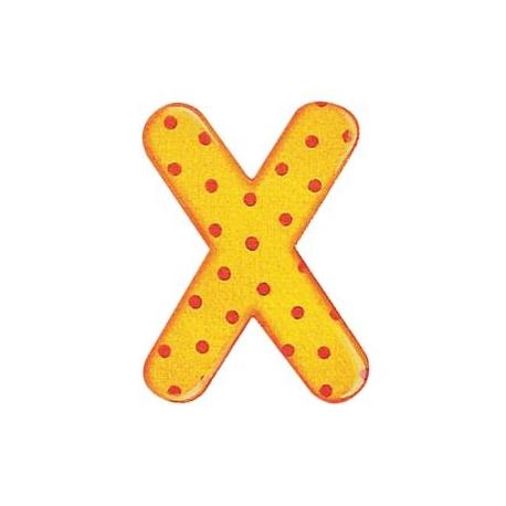 Selecta - Alphabet X - farbenfrohe Buchstaben