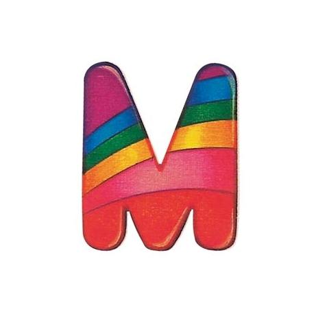 Selecta - Alphabet M - farbenfrohe Buchstaben