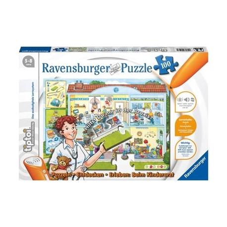 Ravensburger Spiel - tiptoi - Puzzeln - Entdecken - Erleben: Beim Kinderarzt, 100 Teile