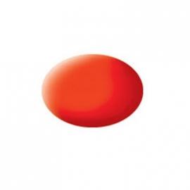 Revell - Aqua Color leuchtorange, matt, 18 ml
