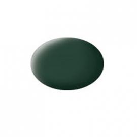 Revell - Aqua Color Dunkelgrün, matt RAF, 18 ml