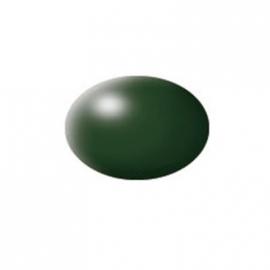 Revell - Aqua Color dunkelgrün, seidenmatt, 18 ml