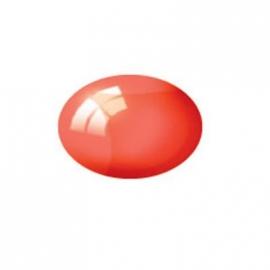 Revell - Aqua Color rot, klar, 18 ml