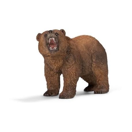 Schleich - World of Nature - Wild Life - Amerika - Grizzlybär