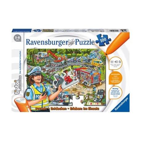 Ravensburger Spiel - tiptoi - Puzzlen, Entdecken, Erleben: Im Einsatz, 100 Teile