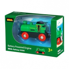 BRIO Bahn - Speedy Green Batterielok