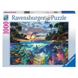 Ravensburger Puzzle - Korallenbucht, 1000 Teile