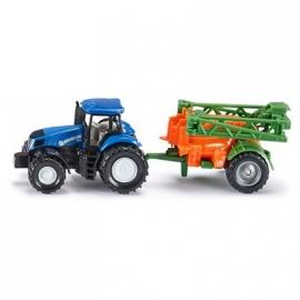 SIKU Super - Traktor mit Feldspritze