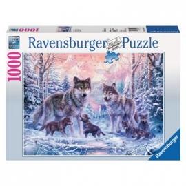Ravensburger Puzzle - Arktische Wölfe, 1000 Teile
