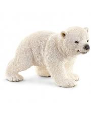 Schleich - World of Nature - Wild Life - Arktis uns Antarktis - Eisbärjunges, laufend