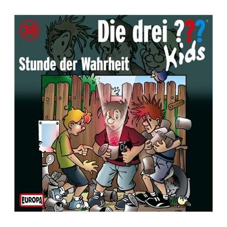 Europa - Die drei ??? Kids CD Stunde der Wahrheit, Folge 38