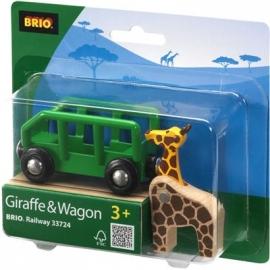 BRIO Bahn - Giraffenwagen