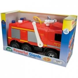 Lena - Starke Riesen - Feuerwehr mit Aufklebern