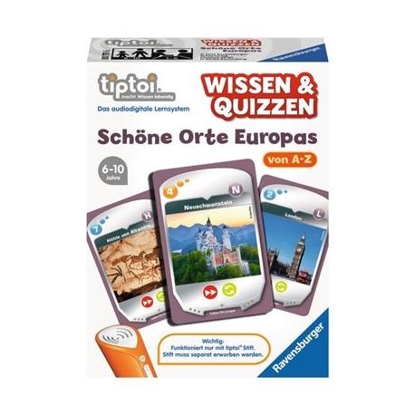 Ravensburger Spiel - tiptoi - Wissen & Quizzen: Schöne Orte Europas