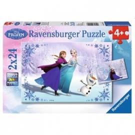 Ravensburger Puzzle - Schwestern für immer, 2x24 Teile