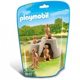 PLAYMOBIL® 6655 - City Life - Zoo: Erdmännchenhügel
