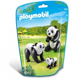 PLAYMOBIL® 6652 - City Life - Zoo: 2 Pandas mit Baby