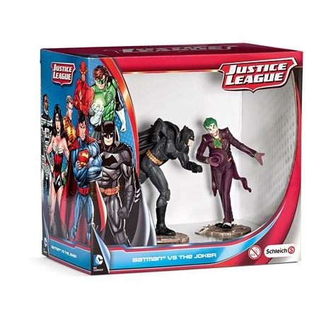 Schleich - DC Comics - Scenery Pack - Batman vs The Joker