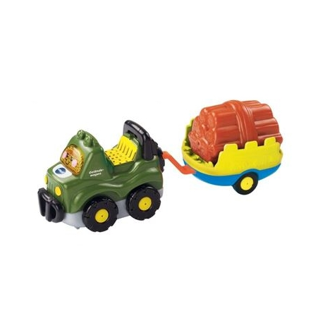 VTech - Tut Tut - Tip Tap - Tut Tut Baby Flitzer - Geländewagen & Anhänger
