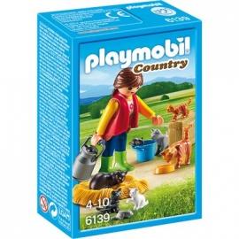 PLAYMOBIL® 6139 - Country - Bauernhof: Bunte Katzenfamilie