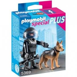 PLAYMOBIL® 5369 - Special Plus - SEK-Polizist mit Hund