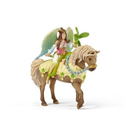 Schleich - World of Fantasy - Bayala - Elfen - Surah in festlicher Kleidung, reitend