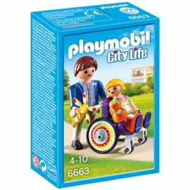PLAYMOBIL® 6663 - City Life - Kind im Rollstuhl