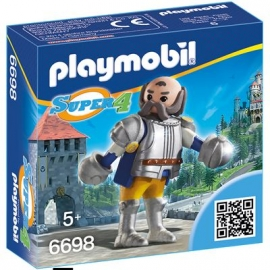 PLAYMOBIL® 6698 - Super 4 - Königswache Sir Ulf