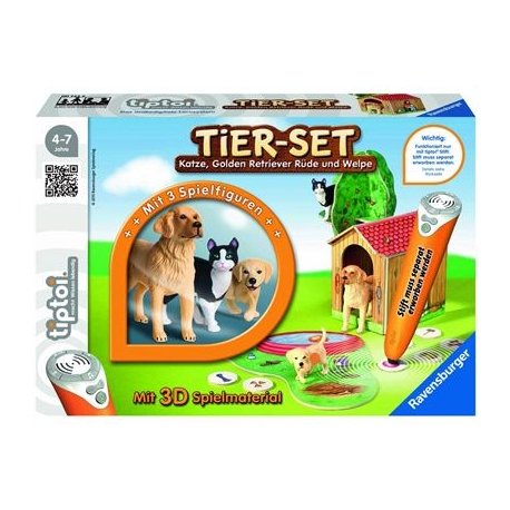 Ravensburger Spiel - tiptoi - Tier-Set Golden Retriever