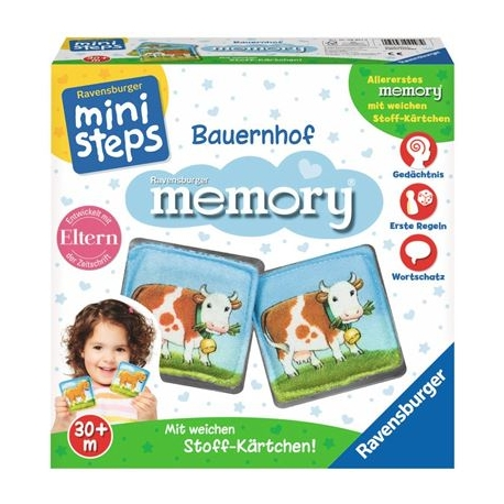 Ravensburger Spiel - ministeps - Bauernhof memory