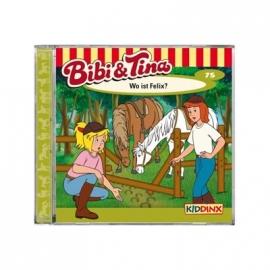 KIDDINX - CD Bibi und Tina … Wo ist Felix? (Folge 75)