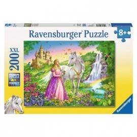 Ravensburger Puzzle - Prinzessin mit Pferd, 200 XXL-Teile