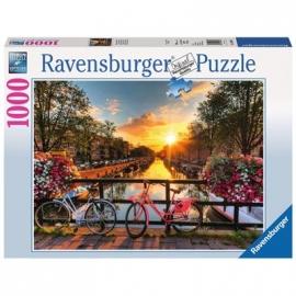 Ravensburger Puzzle - Fahrräder in Amsterdam, 1000 Teile
