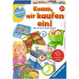 Ravensburger Spiel - Komm, wir kaufen ein!