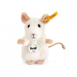 Steiff - Pilla Maus, weiß, 10 cm