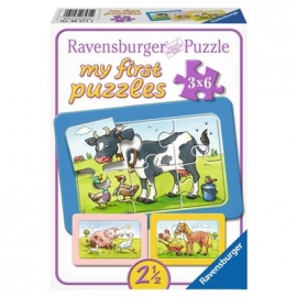 Ravensburger Puzzle - my first Puzzle - Gute Tierfreunde, 6 Teile