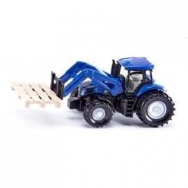 SIKU - Traktor mit Palettengabel und Palette