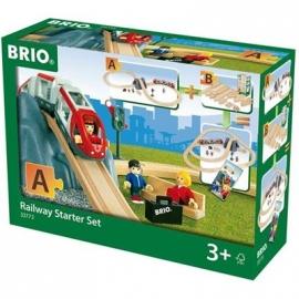 BRIO Bahn - Eisenbahn Starter Set A