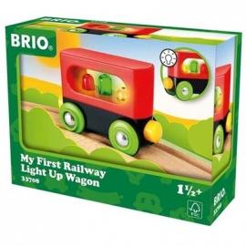 BRIO Bahn - Mein erster BRIO Waggon mit Licht