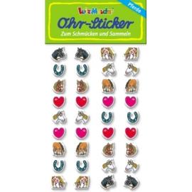 Ohr-Sticker Pferde 2