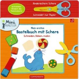 Coppenrath - Mini-Künstler: Mein erstes Bastelbuch mit Schere